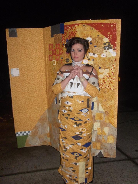 Klimt Painting Costume