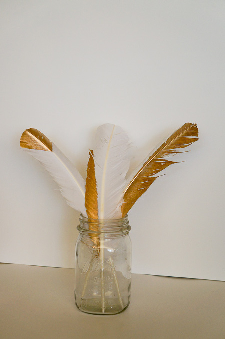 Golden Feather Decor