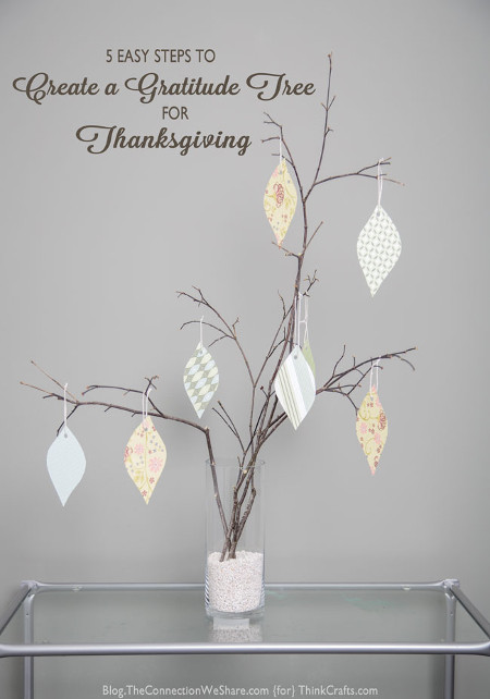 Create a Gratitude Tree for Thanksgiving