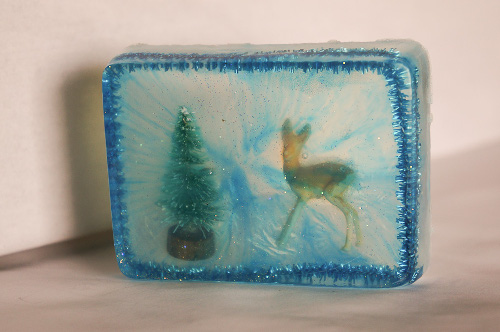 Winter Scene Soaps - DIY Gift Idea