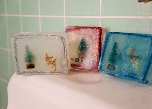 DIY Gift Idea - Winter Soap Scenes