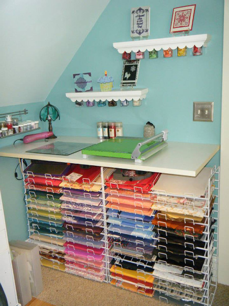 2013 Best Craft Room Finalist in the CreateForLess Craft Room Makeover Contest