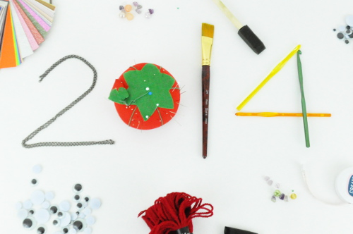 New Years Craft Resolutions
