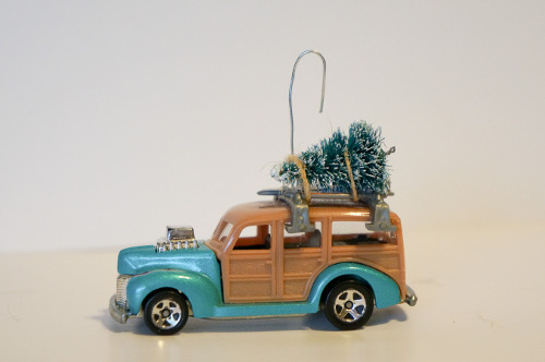 DIY Toy Car Ornament