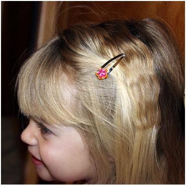 Barrette Made By Your Toddler