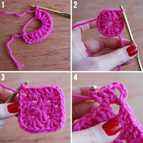 Basic Granny Square Tutorial - Think Crafts by CreateForLess