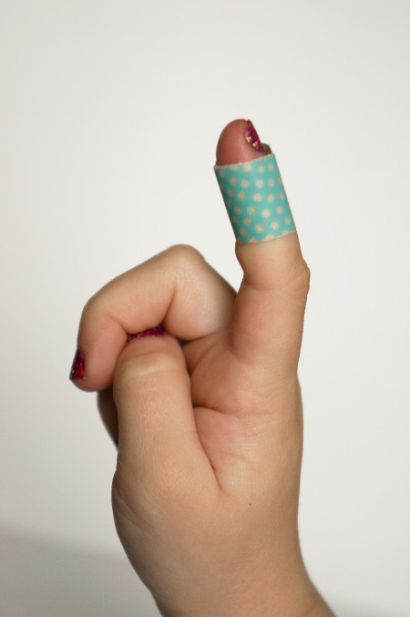 Washi Covered Band-Aid