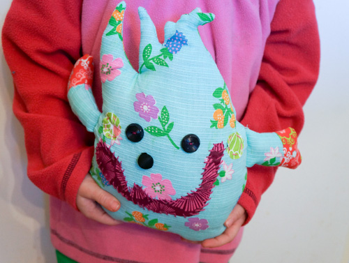 Turn your child's drawing into their very own stuffie!