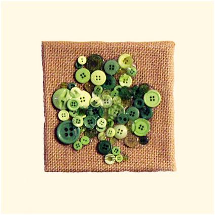 St. Patrick's Day Shamrock Button Art