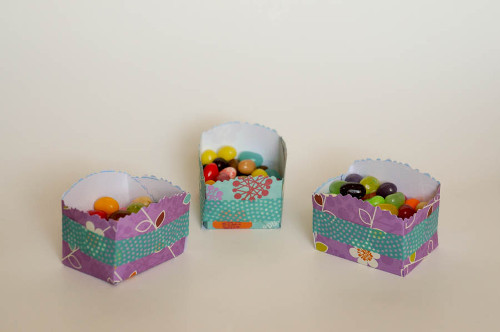 No Glue Candy Favor Cups