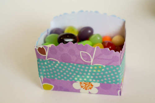 Paper Candy Cup for Spring Parties