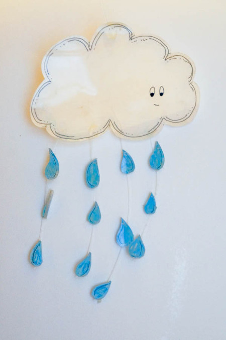 """April Showers"" Cloud Mobile"