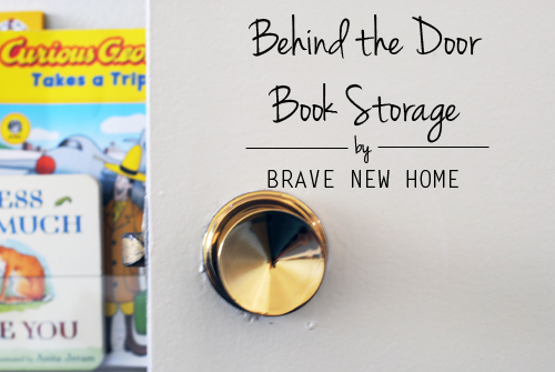 Behind the Door Book Storage - Brave New Home