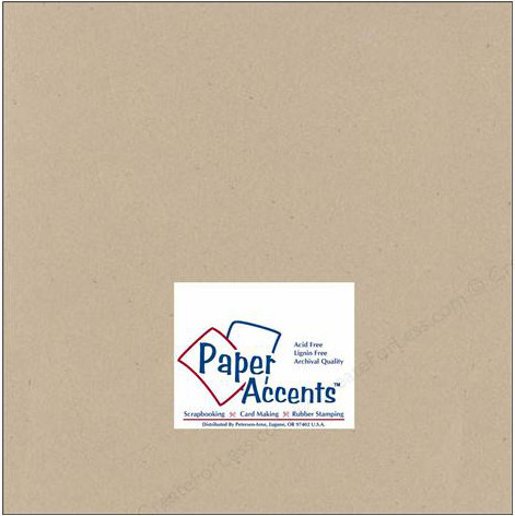 Paper Accents Recycled Kraft Cardstock
