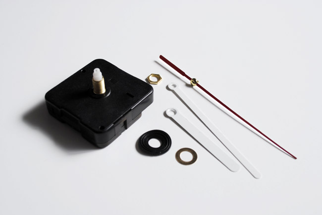 2 - disassembled quartz clock movement