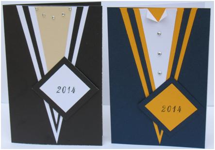 His and Her Graduation Cards