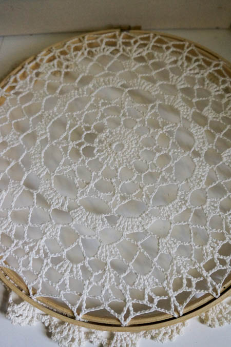 Doily Over Hoop