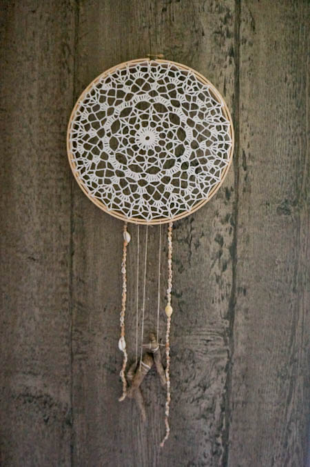 DIY Beachy Dream Catcher