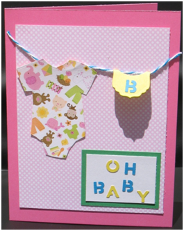 Oh Baby! Onesie Card