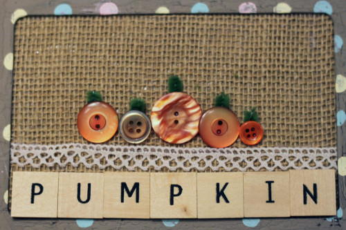 DIY Pumpkin Picture for Fall