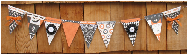 Decorate for your Halloween Party with this cute banner
