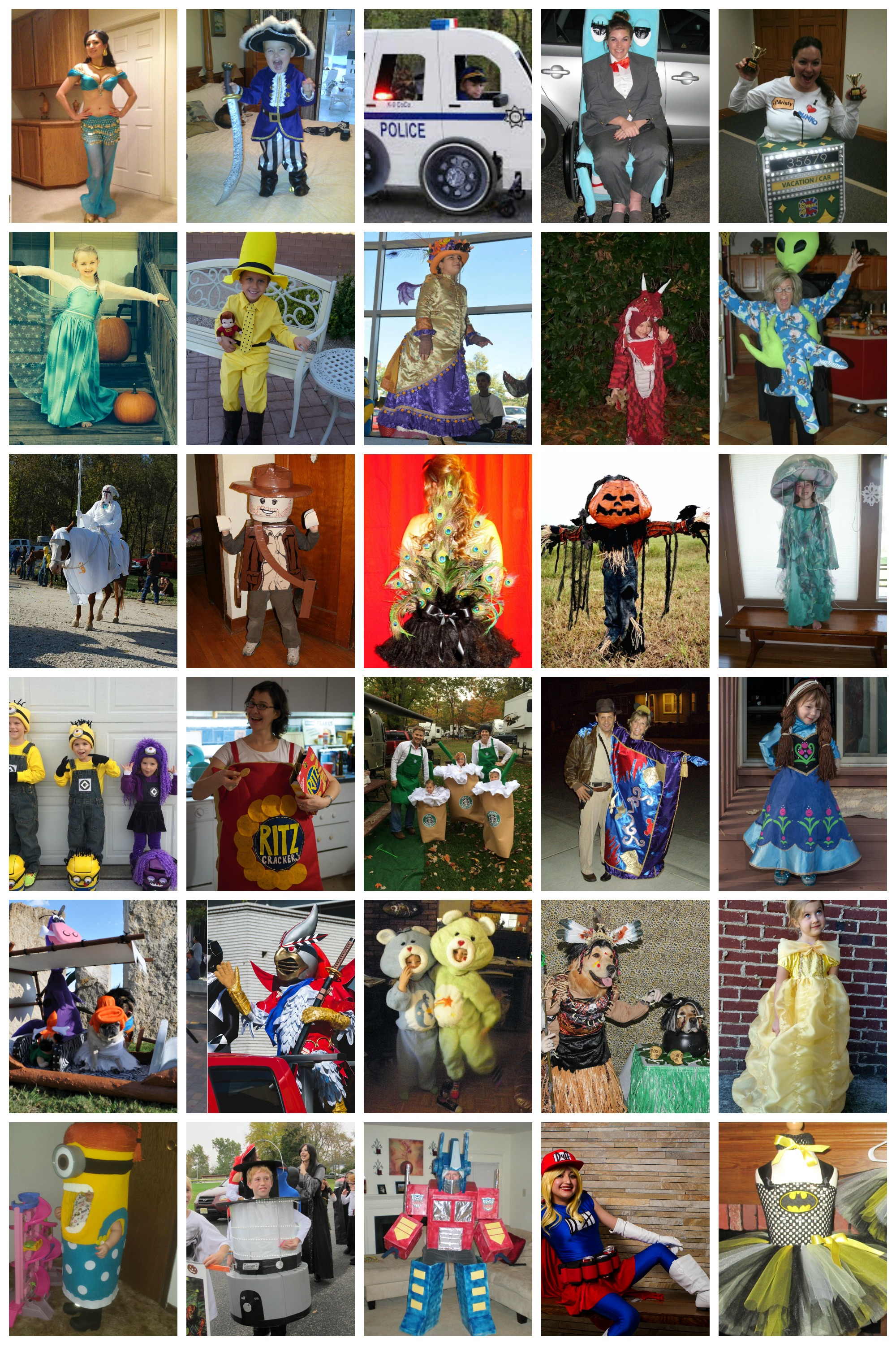2014 Handmade Halloween Costume Contest Finalists