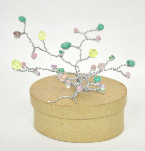 Wire Tree With Beads