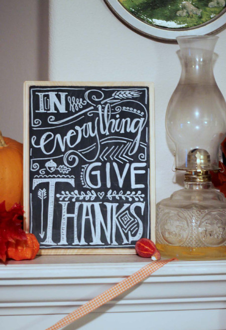 DIY Faux Chalkboard Sign for all occasions