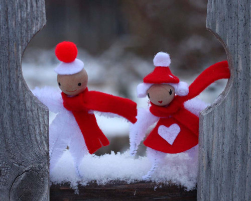 Create fuzzy elves to add some character to your holiday decor!