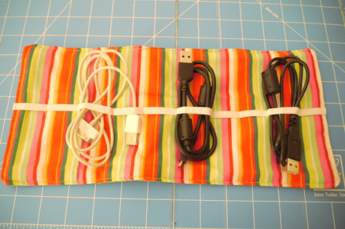 DIY Cord Keeper Roll-Up