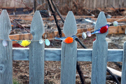 DIY Bird Garland