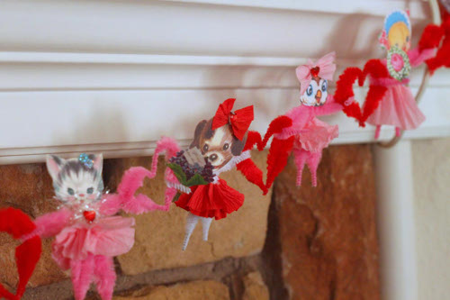 Valentine Animal Garland