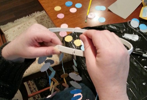 Attaching Dots