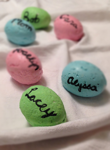 DIY Easter Egg Name Cards