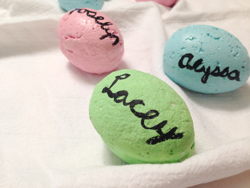 Easter Egg Name Cards