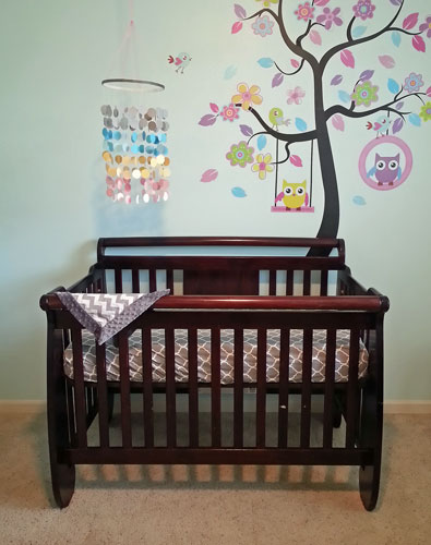 Cardstock Mobile for Baby