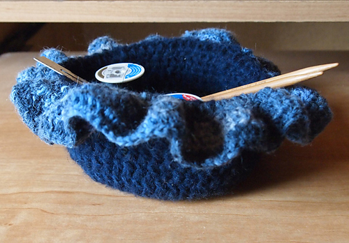 Crochet Bowl for Gifts