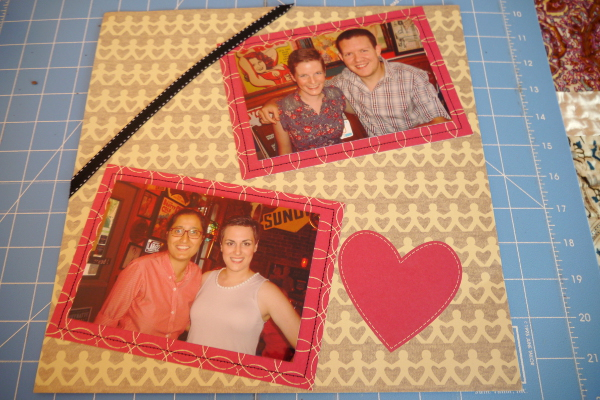 Scrapbooking and Sewing