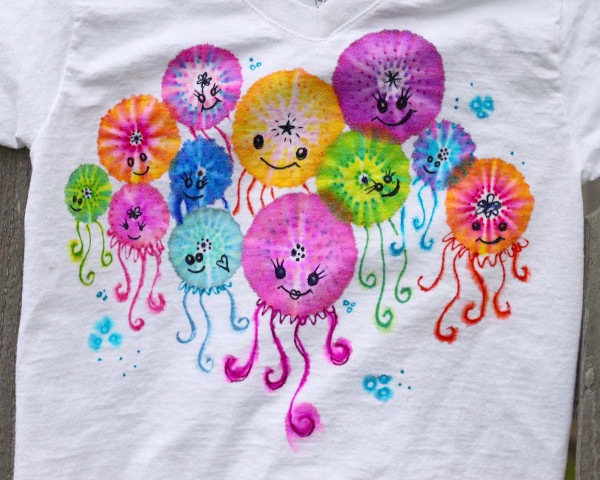 DIY Jellyfish Shirt