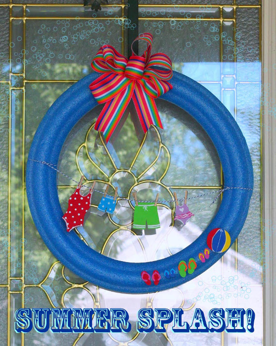 Summer Splash Wreath