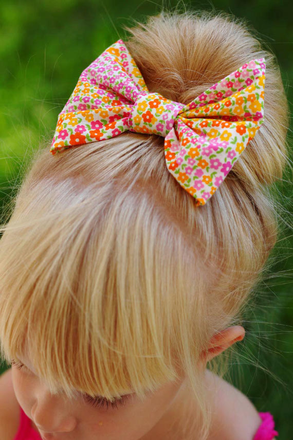 No Sew Hair Bow