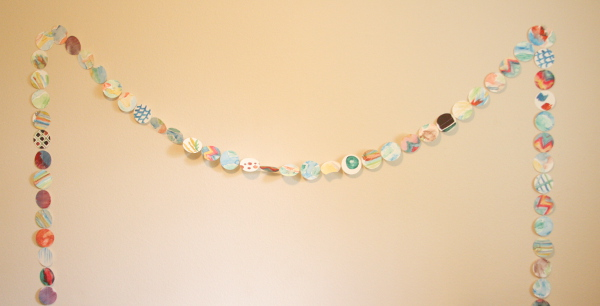 Easy Watercolor Garland