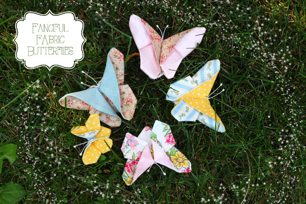 Fabric Butterflies