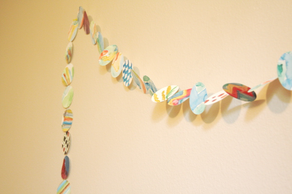 Watercolor Garland DIY