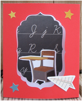 World Teacher Day Diorama Card