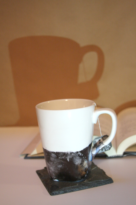 DIY Stone Dipped Mug