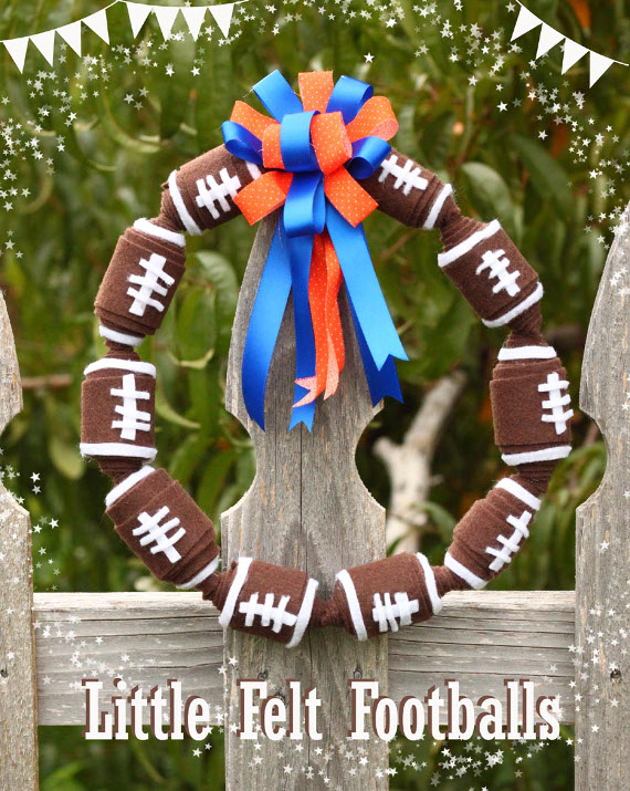 Little Felt Footballs