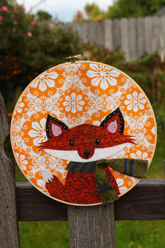 Fox Applique Artwork