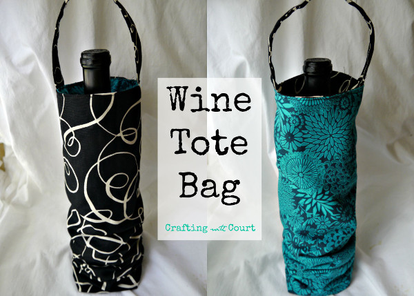 Wine Bag Sewing Tutorial