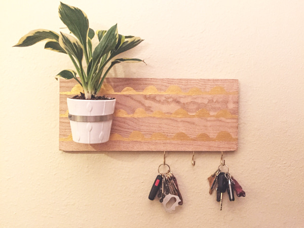 Key Hook Planter